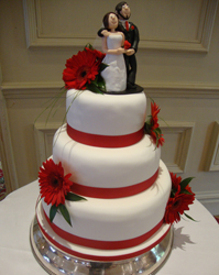 gerbra wedding cake harrogate