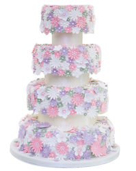 wedding cakes york daisy